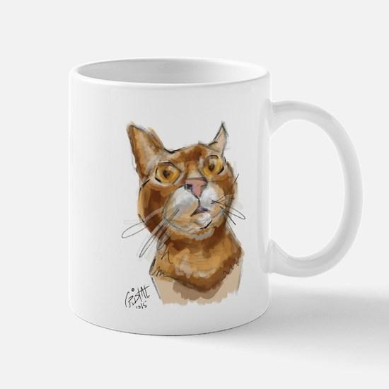 Ginger Cat DALI Mugs