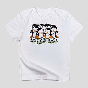 Soccer Penguins Infant T-Shirt
