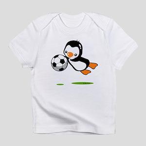 Soccer Penguin Infant T-Shirt