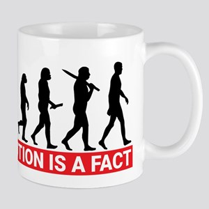 Evolution is a fact Mugs