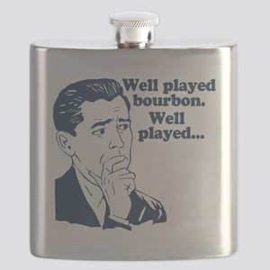 Well Played Bourbon Flask