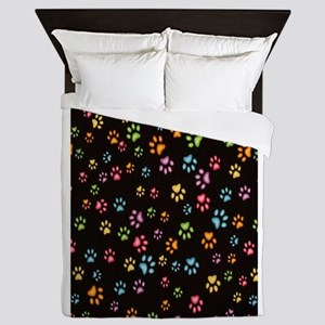 Catty Paws Queen Duvet