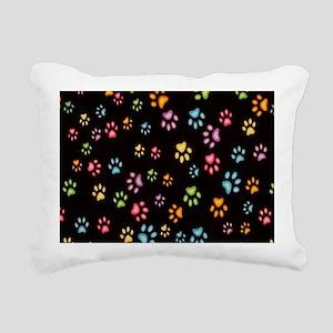 Catty Paws Rectangular Canvas Pillow