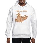 Pigs are Cool Hooded Sweatshirt