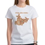 Pigs are Cool Women's T-Shirt