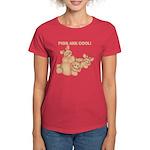 Pigs are Cool Women's Dark T-Shirt