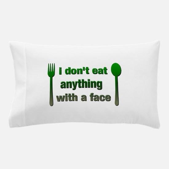 Cute Vegetarian Pillow Case