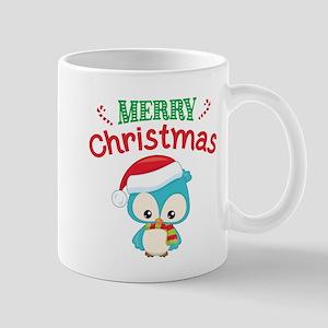 Christmas Owl 11 oz Ceramic Mug