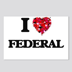 I love Federal Postcards (Package of 8)