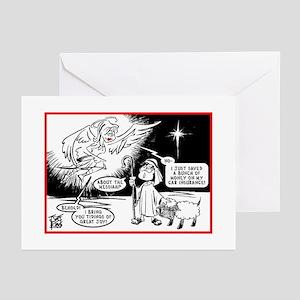 "CHRISTMAS ""GLAD TIDINGS"" Greeting Cards"