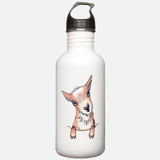 KiniArt Pocket Goat Water Bottle