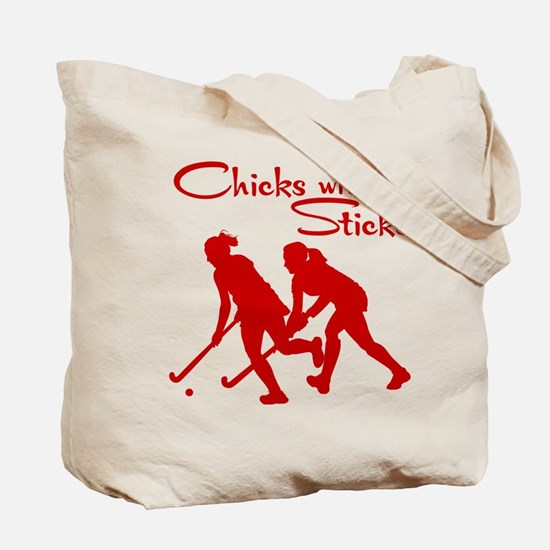 FIELD HOCKEY (both sides) Tote Bag
