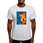 Irish Terrier Ash Grey T-Shirt