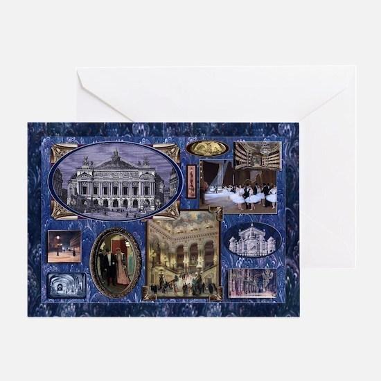 Paris Phantom Opera Season's Card Greeting Car