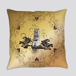Tower of Pisa Everyday Pillow