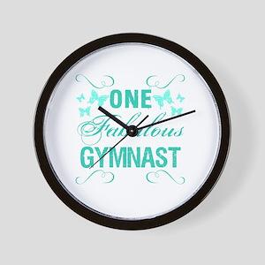 One Fabulous Gymnast Wall Clock