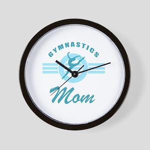 Gymnast Mom Wall Clock