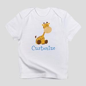 Custom Baby Giraffe Infant T-Shirt