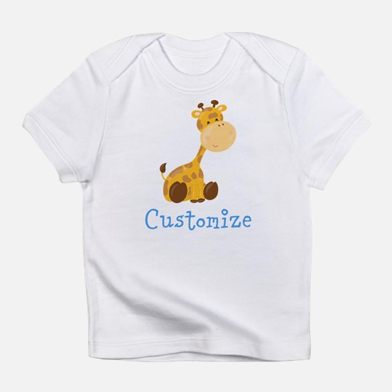Custom Baby Giraffe Infant T-Shirt