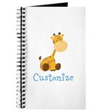Baby giraffe Journals & Spiral Notebooks