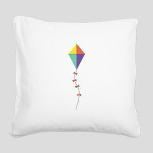 Kite Square Canvas Pillow