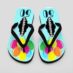 50 Is Fantastic Flip Flops