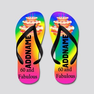 60th Super Star Flip Flops