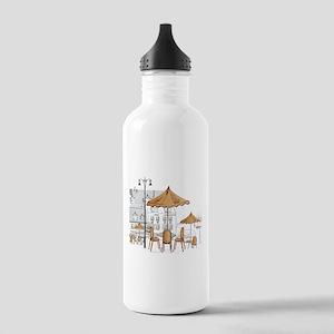 Coffee Shop Water Bottle
