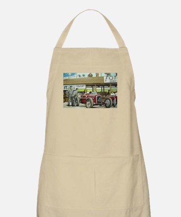 Vintage Car Racing Apron