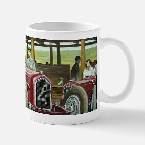 Vintage Car Racing Mugs