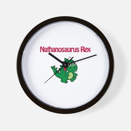 Nathanosaurus Rex Wall Clock