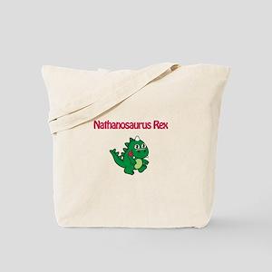 Nathanosaurus Rex Tote Bag