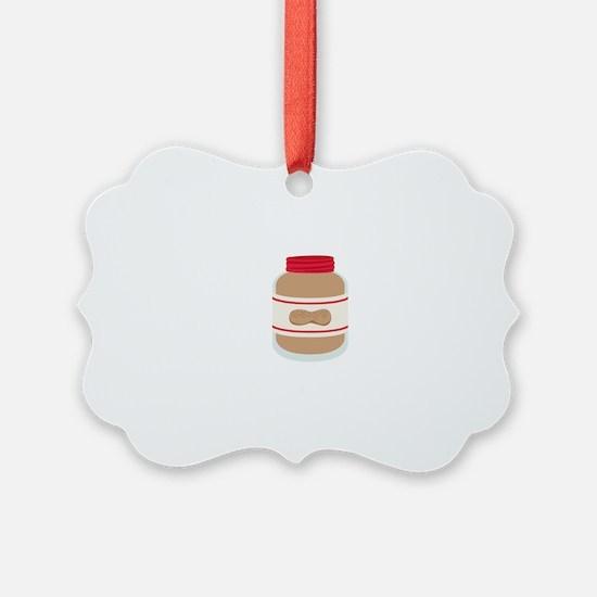 Peanut Butter Jar Ornament
