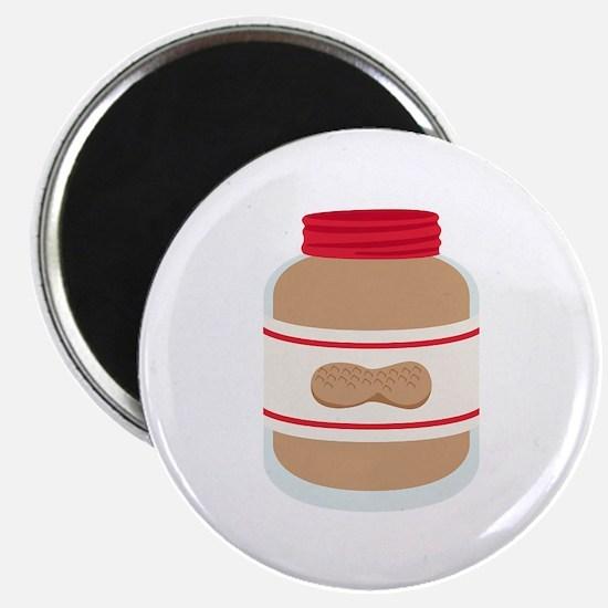 Peanut Butter Jar Magnets