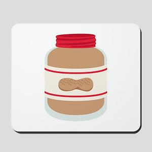 Peanut Butter Jar Mousepad