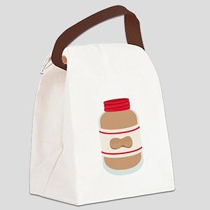 Peanut Butter Jar Canvas Lunch Bag