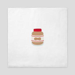 Peanut Butter Jar Queen Duvet