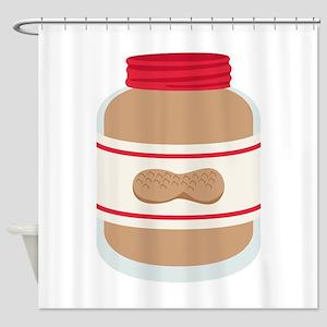 Peanut Butter Jar Shower Curtain