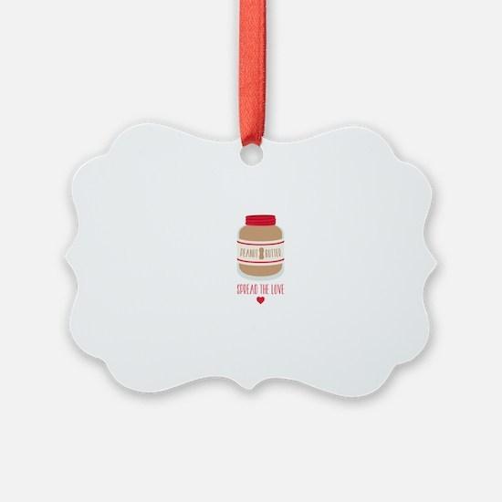 Peanut Butter Love Ornament