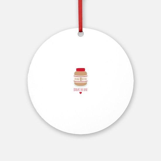 Peanut Butter Love Ornament (Round)
