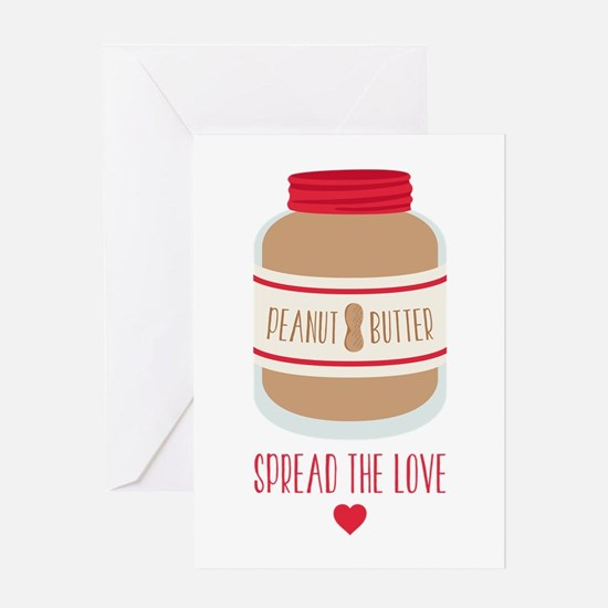 Peanut Butter Love Greeting Cards
