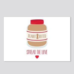 Peanut Butter Love Postcards (Package of 8)