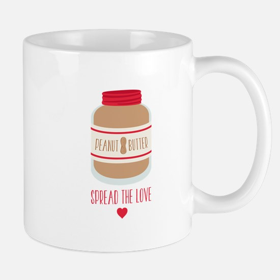 Peanut Butter Love Mugs