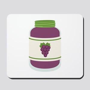 Grape Jelly Jar Mousepad