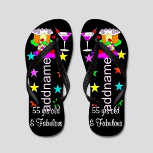 Fabulous 55th Flip Flops