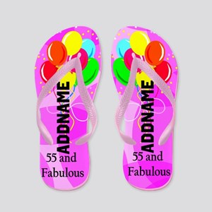 Dazzling 55th Flip Flops