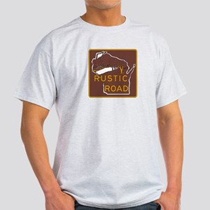 Rustic Road, Wisconsin, USA Light T-Shirt