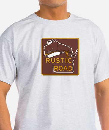 Rustic Road, Wisconsin, USA T-Shirt