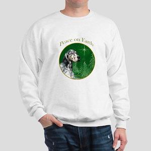 English Setter Peace Sweatshirt