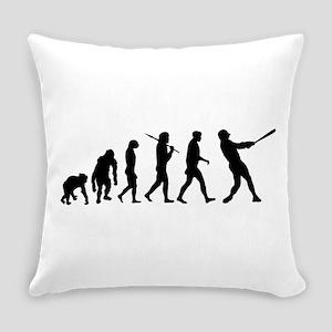 Baseball Evolution Everyday Pillow
